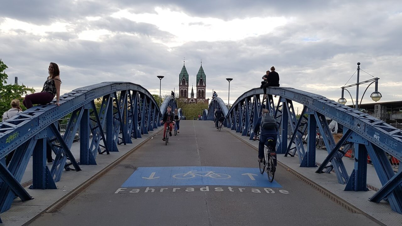 Brücke in Freiburg