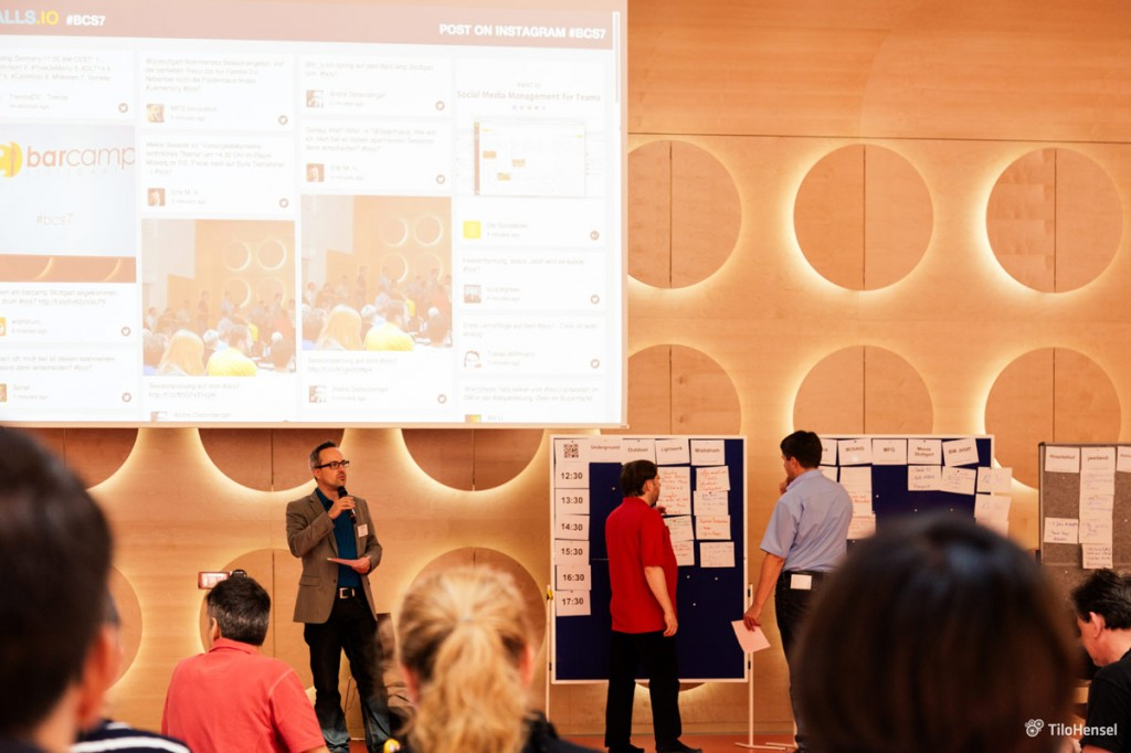 Henning Schürig, Barcamp Stuttgart 2014: Sessionplanung