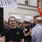 Zensursula-Demo in Stuttgart