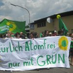 Anti-AKW-Demo in Neckarwestheim