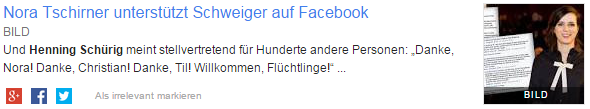 Google Alert: Henning Schürig in BILD