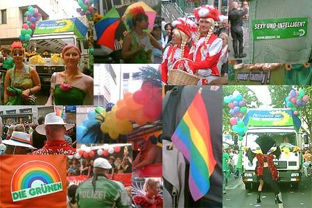 CSD-Parade in Stuttgart am 19.08.2006