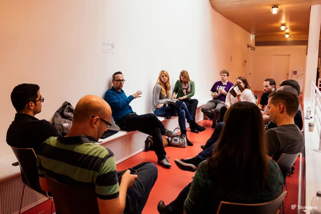 Diskussion in der Session zur digitalen Transformation (bcs7)