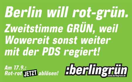 e-Card Grüne Berlin 2006