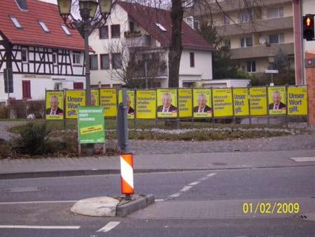 FDP Hessen: 14 Plakate (Eschborn)
