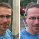 Vorher-Nachher-Bilder vom Friseur-Besuch