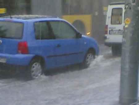Gewitter in Stuttgart (MS)