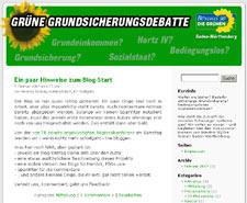 Grüner Blog zu Grundeinkommen und Grundsicherung