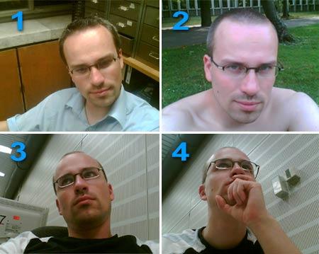 Henning Schürig: Haare (vorher/nachher)