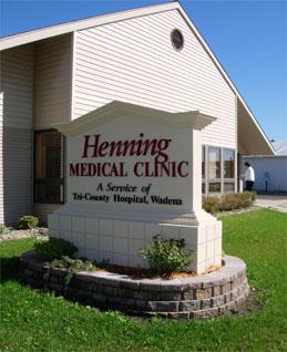 Clinic in Henning, Minnesota (USA)