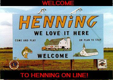 Website von Henning in Minnesota (USA)