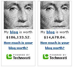 How much is your blog worth? (Doppelpack)