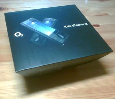 HTC Touch Diamond (Verpackung außen)