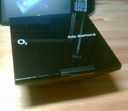 o2 xda Diamond (Verpackung innen)