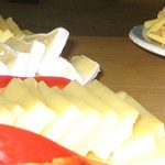 Mozzarella-Remouladen-Käse-Dialog beim Bäcker