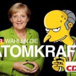 Wer CDU und Merkel wählt, wählt Atomkraft