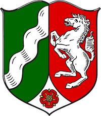 Wappen von Nordrhein-Westfalen (NRW)