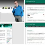 Website und Blog fusioniert