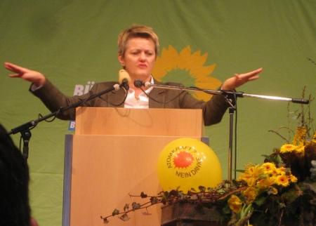 Renate Künast, Aschermittwoch in Biberach (2009)