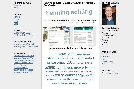 schuerig.com (Screenshot)