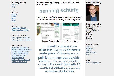 schuerig.com (Screenshot)