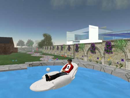Urlaub in Second Life