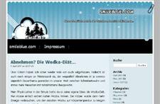 smileblue.com (Screenshot klein)