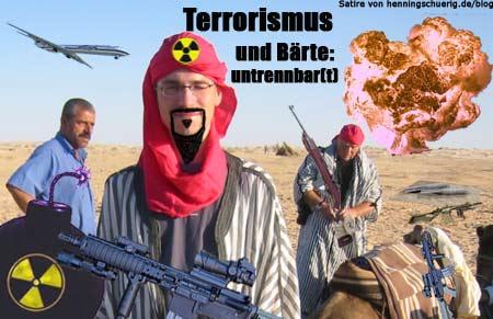 Terrorismus und Bärte: untrennbar(t)
