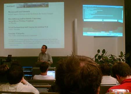 3. Webmontag in Stuttgart (Hochschule der Medien, HdM) - Prof. Rafael Capurro